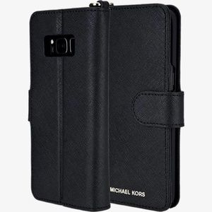 Michael Kors Samsung S8 Leather Phone Case